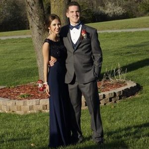Navy blue Prom dress!